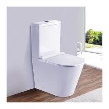 Унитаз напольный безободковый ESBANO ALAGON-С белый с сиденьем Микролифт