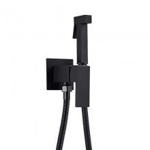 Гигиенический душ M&Z Kit bidet CNQ01803 со смесителем черный матовый
