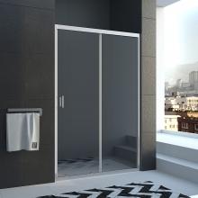 Душевая дверь в нишу Veconi VN-46 100 прозрачное