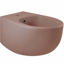 Биде AeT Dot 2.0 S556T1R1V1142 подвесное Розовое матовое