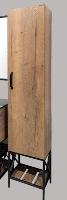Шкаф-пенал Comforty Бредфорд 40 темный дуб