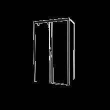 Душевой уголок прямоугольный Cerutti Spa Marbella 120B-R 120х80x190 см черный профиль стекло прозрачное
