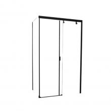 Душевой уголок прямоугольный Cerutti Spa Marbella 120B-L 120х80x190 см черный профиль стекло прозрачное