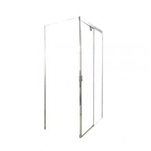 Душевой уголок прямоугольный Cerutti Spa Marbella 120-L 120х80x190 см профиль хром стекло прозрачное