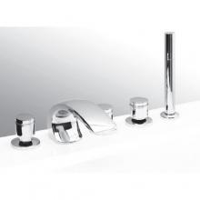 Смеситель Vega Arko Lux (5 отверстий) 91А0205022  на борт ванны
