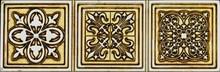 Бордюр Aparici Ceramicа Symbol Gold Cenefa
