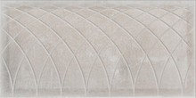 Плитка Atlantic Tiles Serra Curves Oxide White 45x90