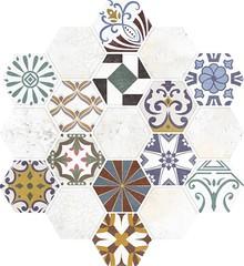 Декор Azteca Retro Decor 21,3x23,1
