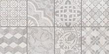 Декор Ceramica Classic Bastion Мозаика серый 20х40 с пропилами