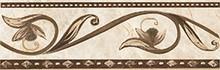 Бордюр Ceramica Classic Illyria Cappuccino 8x25