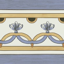 Декор Ceramica Ribesalbes Cielo Cenefa