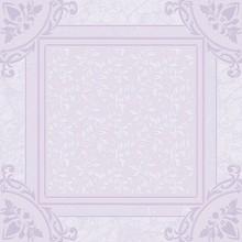 Плитка напольная Ceramique Imperiale Ирисы 01-10-1-16-00-57-310 сиреневая