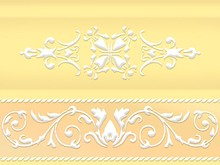 Плинтус Ceramique Imperiale Ирисы 13-01-1-10-43-33-314-0 желтый
