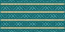 Декор Ceramique Imperiale Воспоминание 04-01-1-10-03-72-885-0 бирюзовый