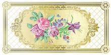 Декор Ceramique Imperiale Воспоминание 04-01-1-10-05-00-880-0 белый