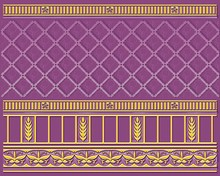 Плинтус Ceramique Imperiale Воспоминание 05-01-1-93-03-56-886-0 фиолетовый