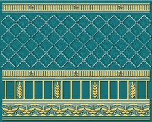 Плинтус Ceramique Imperiale Воспоминание 05-01-1-93-03-72-886-0 бирюзовый