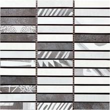 Мозаика Faetano Mosaico Portland Grigio