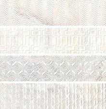 Плитка настенная Gayafores Brickbold Deco Almond 8,15x33,15