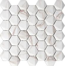 Мозаика Grespania Ceramica Marmorea Hexagonal Calacata 30x30