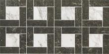 Декор Italon Класс 22.5x45 Уайт Фашиа Прэшэс, натуральная