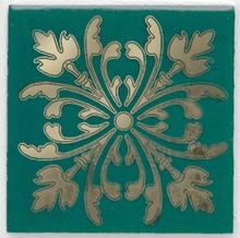 Вставка Kerama Marazzi Клемансо 4,9х4,9 зеленая