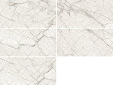 Декор Kerranova Marble Trend K-1000/MR/d01 Carrara 30x60