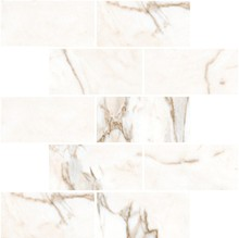 Мозаика Kerranova Marble Trend K-1001/MR/m13 Calacatta Gold 30,7x30,7