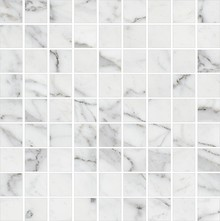 Мозаика Kerranova Marble Trend K-1000/LR/m01 Carrara 30x30