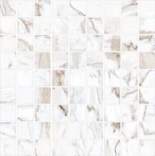 Мозаика Kerranova Marble Trend K-1001/LR/m01 Calacatta Gold 30x30