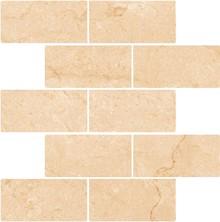 Мозаика Kerranova Marble Trend K-1003/LR/m13 Crema Marfil 30,7x30,7
