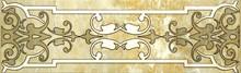 Бордюр LB-Ceramics Кендо 1501-0072 7,5х25