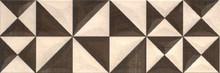 Декор Mei Geometrica 25x75 бежевый