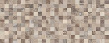 Плитка настенная Naxos Ceramica Lithos Mosaico Taupe 3D 32х80,5