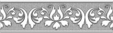 Бордюр Нефрит-Керамика Преза 05-01-1-62-04-06-1015-0 серый
