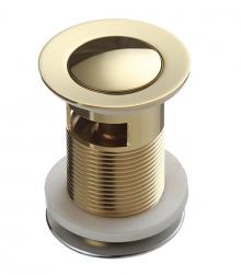Донный клапан Lemark бронза