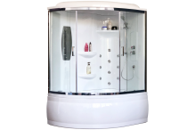 Душевой бокс Royal Bath  RB 170ALP-T-CH прозрачное 170x100 правая