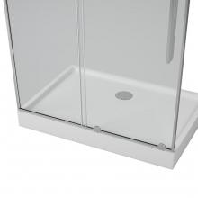 Душевая дверь в нишу Alvaro Banos TOLEDO D120.10 Cromo, профиль хром 120 см