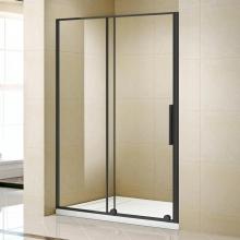 Душевая дверь в нишу Alvaro Banos Alvaro Banos Toledo D140.10 Negro, черный профиль 140 см
