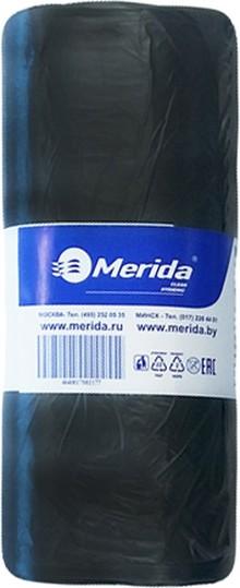 Мешки для мусора Merida Economy МЭ35 черные 30 л (1 упаковка: 50 шт)