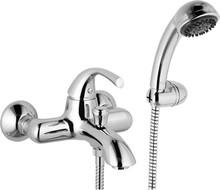 Смеситель Mariani Pluto 230/PN для ванны с душем