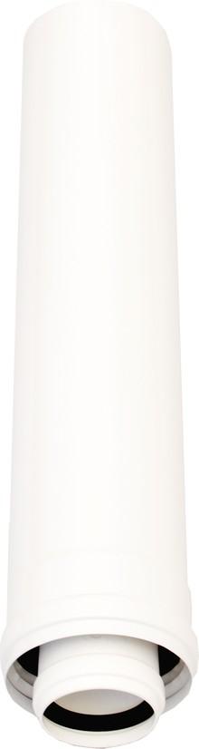 Дымоход Ariston 3318078 удлинение 60/100 мм (высота: 0,5 м), с центрирующей пружиной