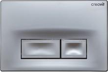 Кнопка смыва Creavit Ore GP3002.00 серый матовый