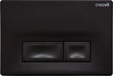 Кнопка смыва Creavit Ore GP3002.02 черный глянцевый