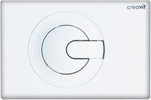 Кнопка смыва Creavit Power GP5001.00 белая