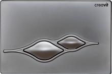 Кнопка смыва Creavit Ufo GP1003.00 хром матовый