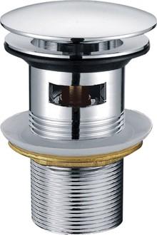 Донный клапан для раковины Creavit SF031 с переливом, хром