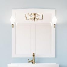 Зеркало ValenHouse Эллина 85 белое