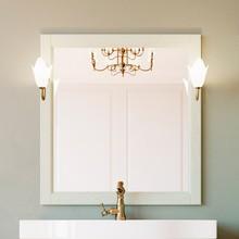 Зеркало ValenHouse Лиора 90 слоновая кость
