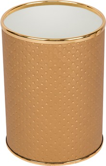 Мусорное ведро Geralis M-PGG-B золото, 3 л